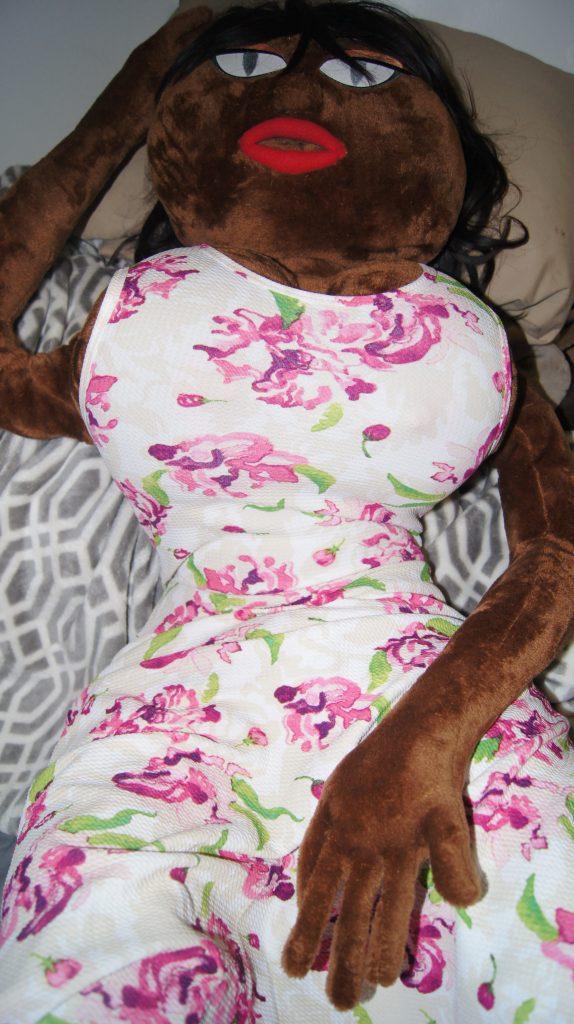 Shalina doll dressed
