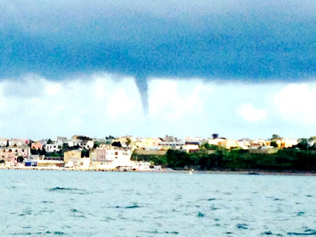 Water Spout off the coast of Napoli 4