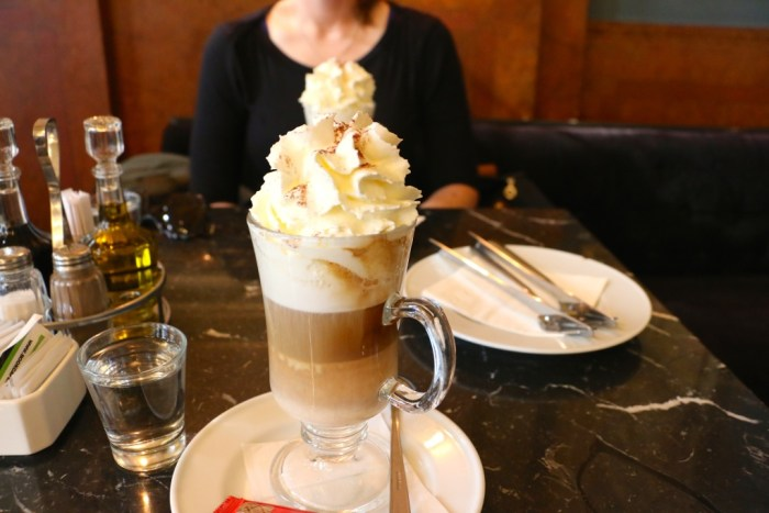 Budapest Hungary Expresso with Bailey's