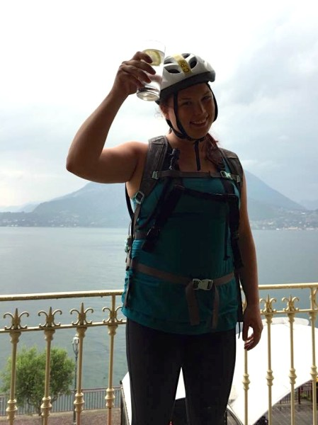 Made it all away around Lake Como Italy with just a bike!