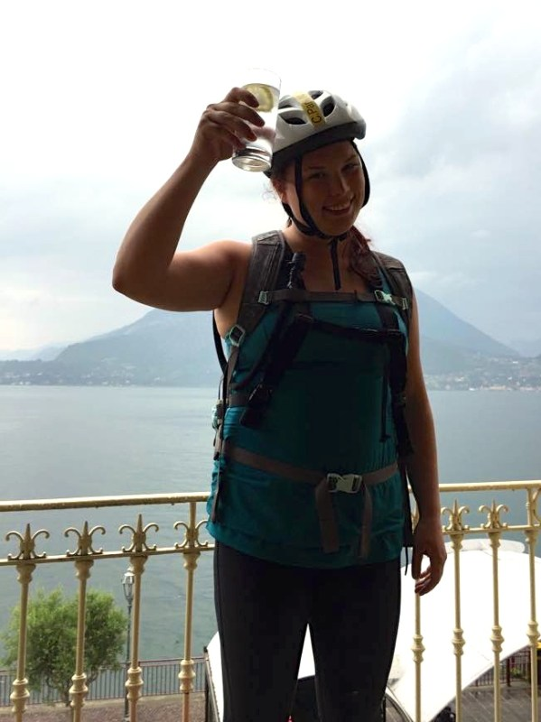 Just finished biking all of Lake Como Italy, 160 KM in 2 days!