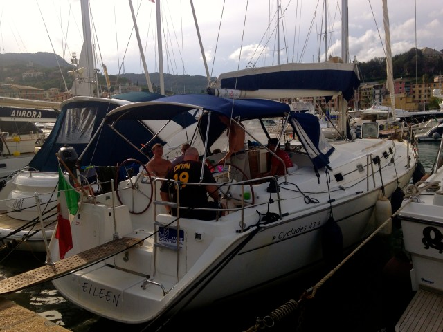 Sailing the Coast of Cinque Terre Italy 21