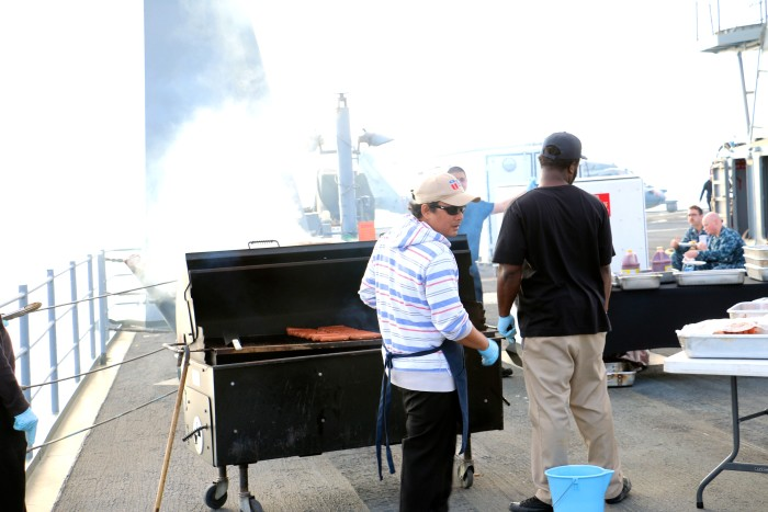 Steal Beach Picnic USS Mount Whitney 5