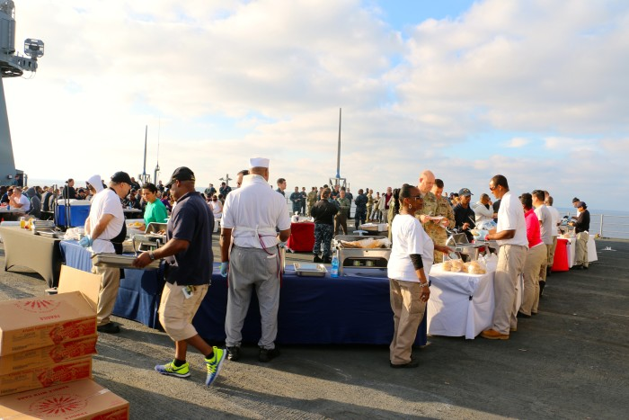 Steal Beach Picnic USS Mount Whitney 7
