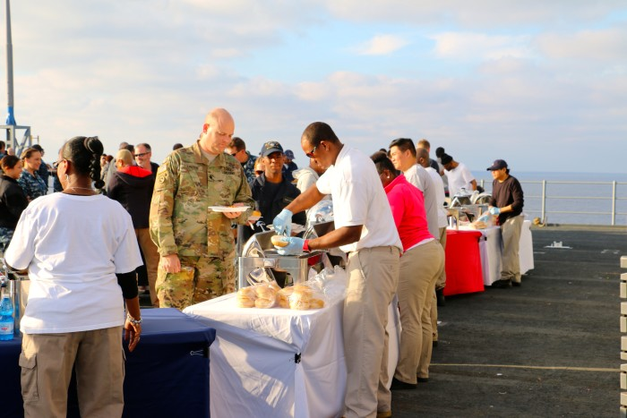 Steal Beach Picnic USS Mount Whitney 8