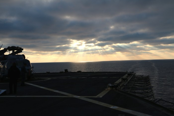 Steal Beach Picnic USS Mount Whitney 13