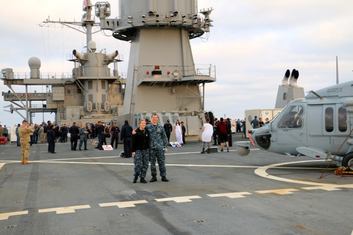 Steal Beach Picnic USS Mount Whitney 18