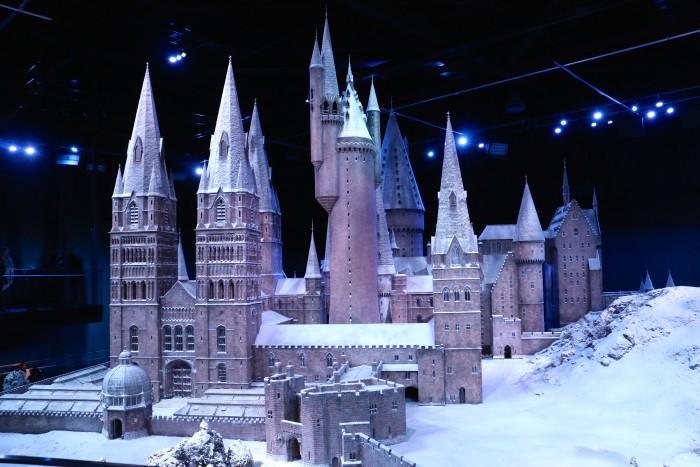 Hogwarts in the Snow, Harry Potter World London 53