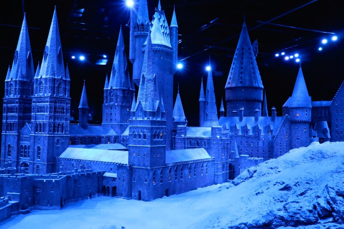 Hogwarts in the Snow, Harry Potter World London 55