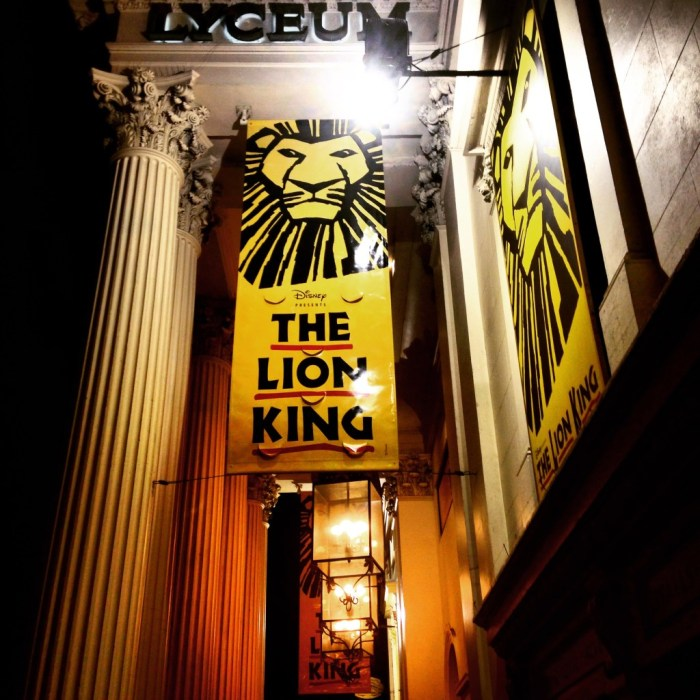 The Lion King Musical in London!