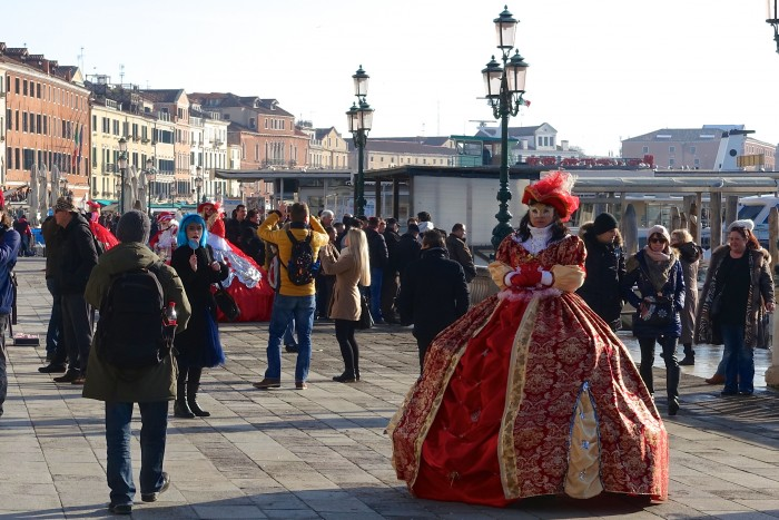 Venice Italy, Carnival Weekend 18