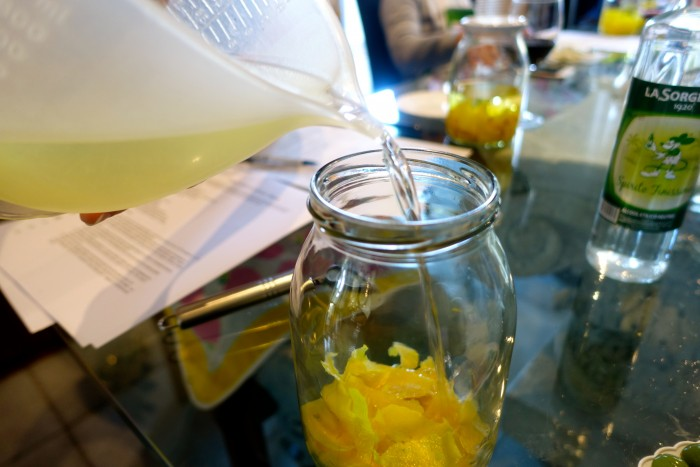 Learning how to make Limoncello 14