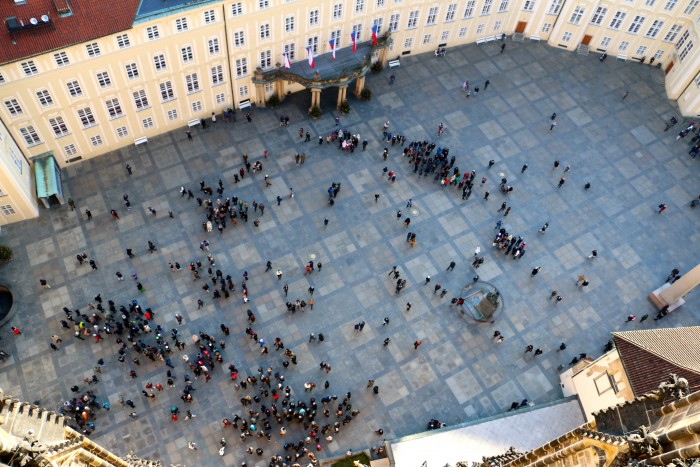 Top of the Tower, Prague Castle
