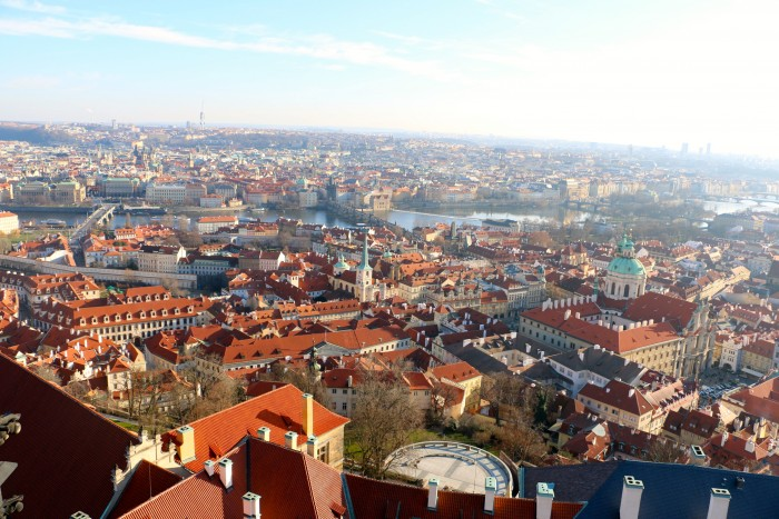 Top of the Tower, Prague Castle 5