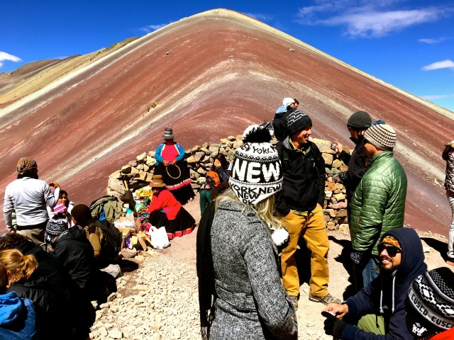Rainbow Mountain, Peru 3