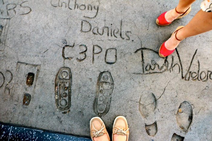 Chinese Theater Hollywood Walk of Fame