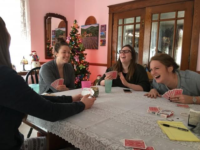 Card Games at the Hauser House