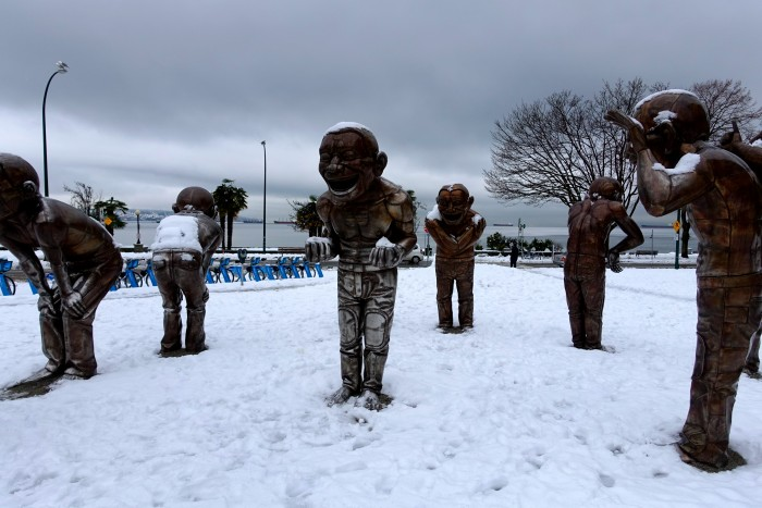 Laughing Statues, Vancouver Canada 2