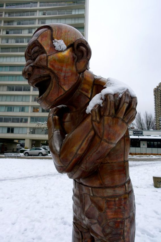 Laughing Statues, Vancouver