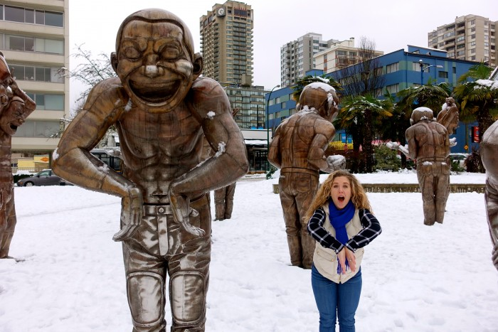 Laughing Statues, Vancouver Canada 4