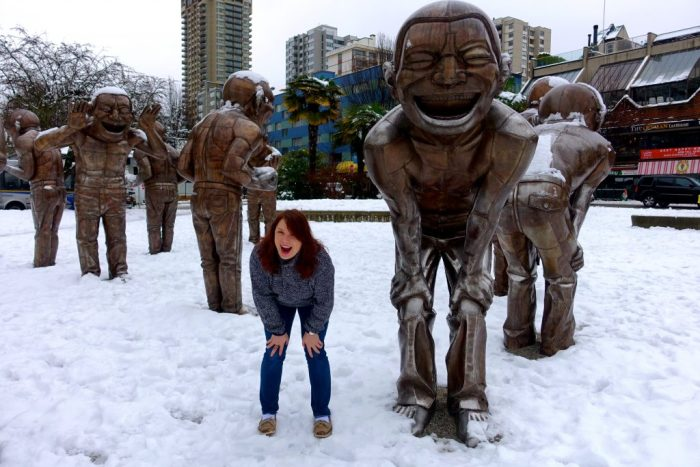 Laughing Statues, Vancouver Canada 6