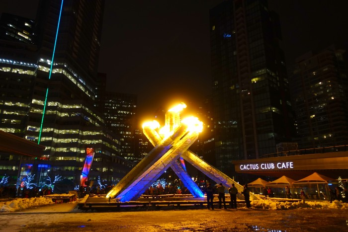 Olympic Torch, Vancouver Canada