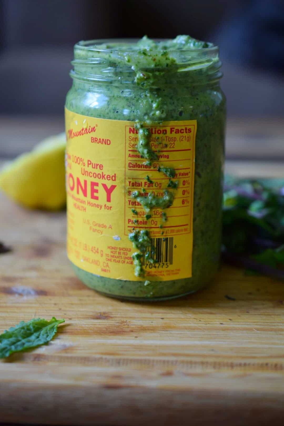 Super Green Sauce Paleo Whole30