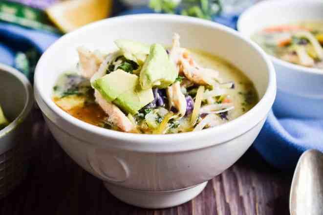 instant pot creamy chicken soup