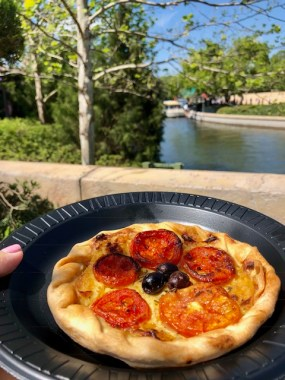Epcot International Flower and Garden Festival France Pavilion Fleur de Lys Tarte a la Tomate Provencale