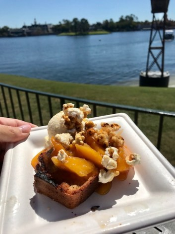Epcot International Flower and Garden Festival Northern Bloom Griddled Maple Pound Cake