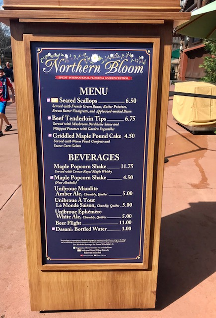Epcot International Flower and Garden Festival Northern Bloom