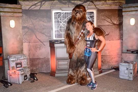 ark Side Race Weekend runDisney First Order Challenge Chewbacca Chewie
