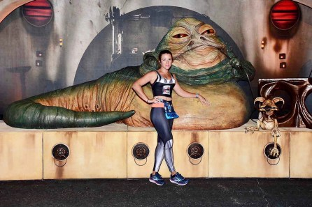 ark Side Race Weekend runDisney First Order Challenge Jabba the Hut 2