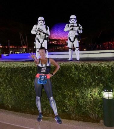 Dark Side Race Weekend runDisney First Order Challenge Storm Troopers