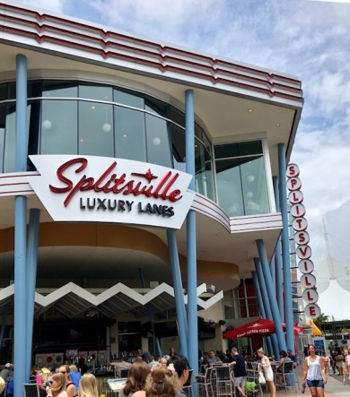 Splitsville Disney Springs 1