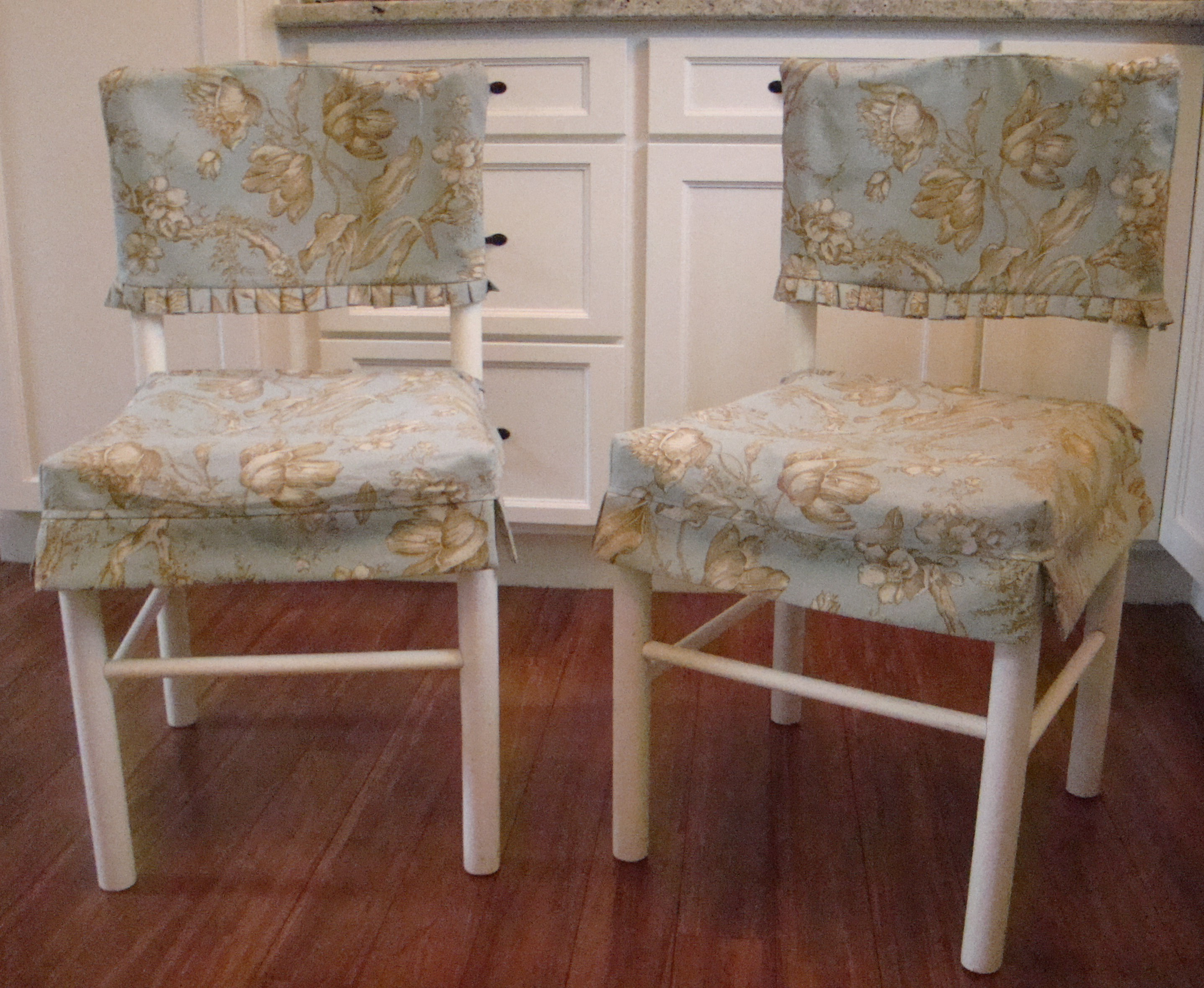 white slipcovered chair and a half event chairs tables the casual chic cottage | making old new again. refurbishing, reusing, recycling.