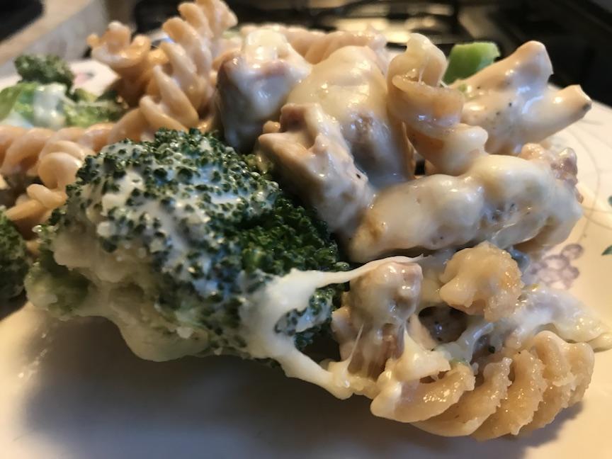 Casual Cookery – Chicken Broccoli Alfredo