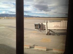 A gate at the Colorado Springs airport. Photo by Sam Zarky