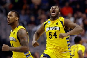 Davante Gardner will be a leader in Marquette's frontcourt this season. (Win McNamee/Getty Images North America)