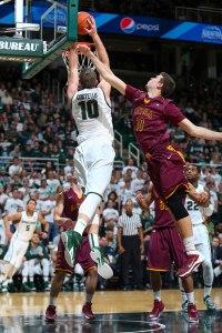 Photo: Matthew Mitchell / MSU Athletic Communications