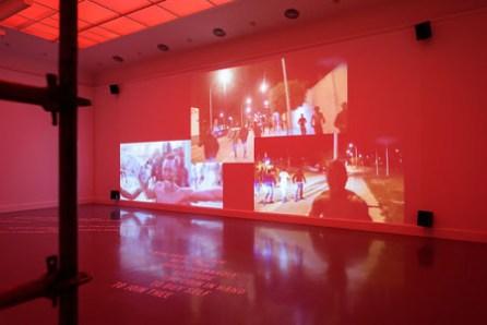 Nástio Mosquito, Ser Humano, 2015. Installation view Van Abbemsueum, 2015. Photo Peter Cox