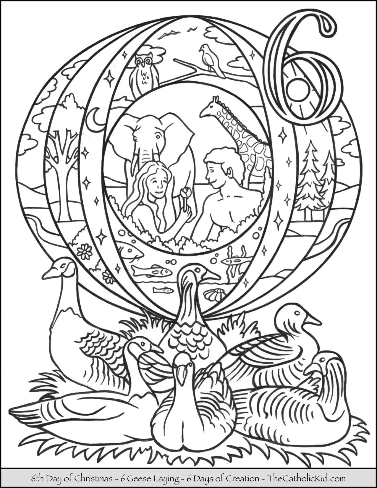12 Days Of Christmas Coloring Page 12 Days Of Christmas Ten Lords