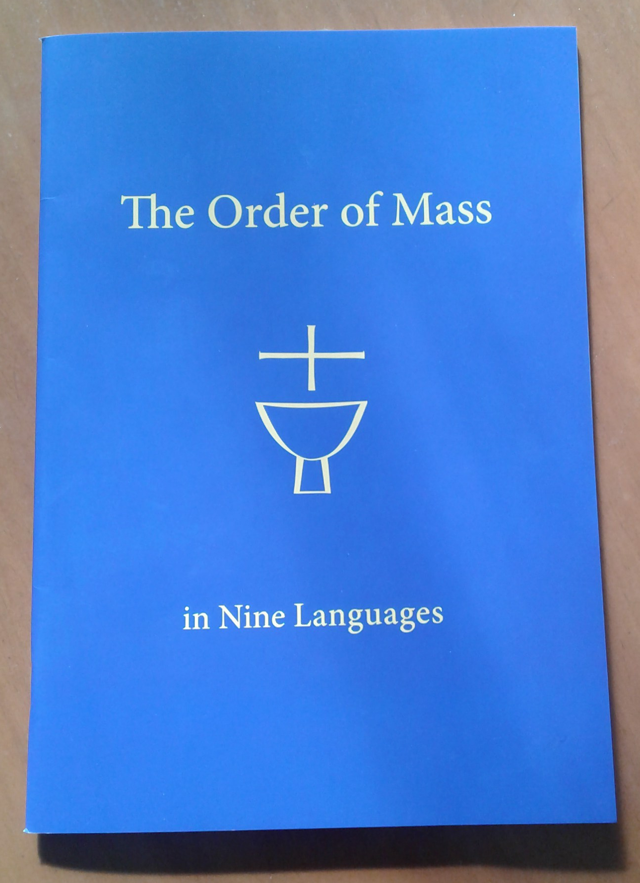Review The Order Of Mass In Nine Languages By Liturgical