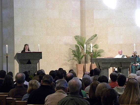 2010 Saint John's Bible Oct  31 Welcome Mass