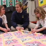 Family Circles connect St. Joseph students with community