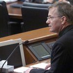Marriage amendment moves forward in Senate; Catholic bishops testify in favor