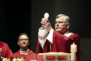 Archbishop Nienstedt - Eucharist