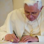 Retired pope publishes reflection on abuse crisis