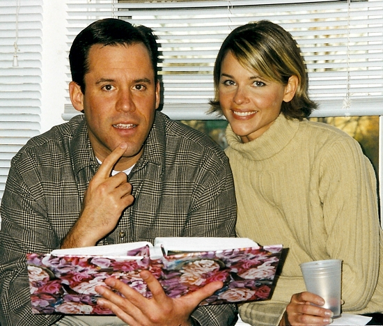 Vince Flynn and his wife Lysa. Photo courtesy of Kathy Schneeman