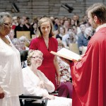 Pentecost plus: Holy Spirit feast draws two into the Church